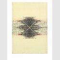 Toulu Hassani »Ohne Titel«, 2015. Feinminenstift, Öl, Leinwand, 55×38 cm