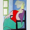 Pablo Picasso (1881-1973): Frau am Fenster sitzend. Marie-Thérèse,1932, Privatsammlung, © Succession Picasso / VG Bild-Kunst, Bonn 2016