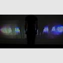 David Camargo, LuxFero, 2016, interaktive Videoinstallation, Foto: David Camargo