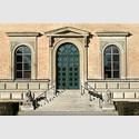 Das Klenze-Portal an der Ostseite der Alten Pinakothek. Copyright Bayerische Staatsgemäldesammlungen, München.