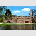 Außenansicht des Kunstmuseums Dieselkraftwerk Cottbus. Foto und Copyright: Marlies Kross.
