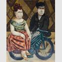 Das Rendezvous, 1962, Öl auf Leinwand, 152 x 100 cm