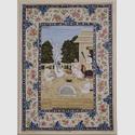 signiert Mihr Tschand: Szene aus dem Leben des Scheikh Schir Muhammad. Lucknow (Indien), um 1775. Gold und Wasserfarben auf Papier © bpk / Staatliche Museen zu Berlin, Museum für Islamische Kunst / Ingrid Geske