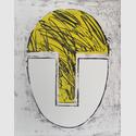 Rafael Canogar, Hommage à Gonzalez, 1984, Radierung, 49 x 39 cm