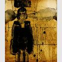 Klaus Hack, Ohne Titel, 2000  Mischtechnik auf Papier, 24 x 20 cm