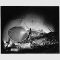 The big horn antennaweighing 380 tons, at the earth station at Andover, Maine […], 30.3.1965Silbergelatinepapier© Sammlung Idylle + Desaster, Bogomir Ecker