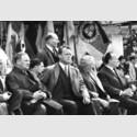 Willy Brand, Ludwig Erhard und Funktionäre des DGB, Berlin 1964, Silbergelatineabzug auf Barytpapier, Vintage Print, 24,5 x 35,4 cm