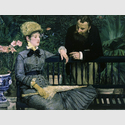 Dans la serre / Im Wintergarten, 1878/79. Édouard Manet. Öl auf Leinwand, 115 x 150 cm. Staatliche Museen zu Berlin, Nationalgalerie. © bpk/Staatliche Museen zu Berlin. Foto: Jörg P. Anders