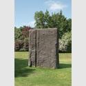 Günther Förg: o.T., 1994, Bronze. Dauerleihgabe Michael und Eleonore Stoffel Stiftung. Copyright Stiftung Skulpturenpark Köln, 2015. Foto: Fotografie Axel Schneider, Frankfurt.