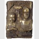 Anna Franziska Schwarzbach (1949), Berlin, Geschwister, 1983, Bronze, 76x51x22 cm; Foto: MJK, B. Kuhnert