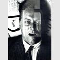 El Lissitzky. Porträt Kurt Schwitters, 1924. Fotomontage auf Silbergelatine. © Nachlass El Lissitzky