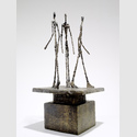 Alberto Giacometti, Groupe de trois hommes I, 1943, Fondation Marguerite et Aimé Maeght, Saint-Paul - France © Alberto Giacometti Estate (Fondation Alberto et Annette Giacometti + ADAGP) Paris, 2016