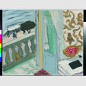 Henri Matisse: Nice, cahier noir (Nizza, das schwarze Heft), 1918, Öl auf Leinwand, 33 x 40,7 cm, Hahnloser/Jaeggli Stiftung, Winterthur, Foto: Reto Pedrini, Zürich © Succession H. Matisse / VG Bild-Kunst, Bonn 2016
