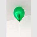 Abb.: Jeppe Hein, Green Mirror Balloon (dark), 2017  Courtesy the artist, KÖNIG GALERIE, Berlin, London,  Tokyo, 303 GALLERY, New York, and Galleri Nicolai Wallner, Copenhagen  © Studio Jeppe Hein/Florian Neufeldt