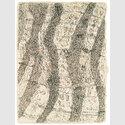 Henri Michaux, Mescalinzeichnung, 1959 Tusche auf Papier, 24 x 17 cm