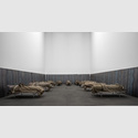 Jannis Kounellis, Ohne Titel (Großes Lazarett), 2000, Galerie Karsten Greve, St. Moritz, Paris, Köln, © VG Bild-Kunst, Bonn 2018, Foto: Henning Krause