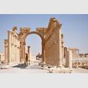Bogentor in Palmyra, Foto: Daniel Lohmann