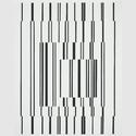 Victor Vasarely (1906–1997): Fugue, 1958–1960. Öl auf Leinwand, 100 x 79 cm. Städel Museum, Frankfurt am Main, Eigentum des Städelschen Museums-Verein e.V. © VG Bild-Kunst, Bonn 2018. Foto: Städel Museum – ARTOTHEK