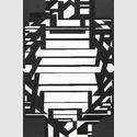 Victor Vasarely (1906–1997): Mindoro II, 1954- 1958, Öl auf Leinwand, 195 x 130 cm. Centre Pompidou, Paris. Musée national d'art moderne / Centre de création industrielle. © VG Bild-Kunst, Bonn 2018. Foto: Bertrand Prévost