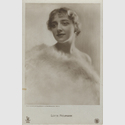 Karl Schenker, Lotte Neumann, around 1920 (celebrity postcard), Museum Ludwig