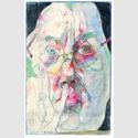 Horst Janssen: Oktober-Maske, 1982, Pastell. Copyright Horst Janssen, VG Bild-Kunst, Bonn 2016.