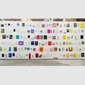 Jac Leirner Museum Bags, 1985-2006. Courtesy: Gallery Fortes D'Aloia & Gabriel and the artist © Jac Leirner. Foto: Eduardo Ortega