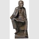 Gerhard Marcks, Albertus Magnus (Modell II), Bronze 1955 / 1970, Höhe 85 cm, © Kunsthaus Lempertz, Photo: Helmut Buchen / VG Bild-Kunst Bonn 2018
