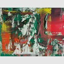 Gerhard Richter: Abstraktes Bild, 2016. Öl auf Aluminium. © Gerhard Richter 2016 (221116)