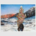 Martina Altschäfer - Frühling, 2020, Farbstift und Pastell auf Papier, 126 x 160 cm
