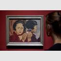 Ausstellungansichten 'Lotte Laserstein. Von Angesicht zu Angesicht'