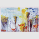 CY TWOMBLY : Lepanto VII, 2001 . Acryl, Wachsstift, Graphit auf Leinwand, 216,5 x 340,4 cm. Inv. Nr. UAB 475 . © Cy Twombly Foundation . Foto: Haydar Koyupinar, Bayerische Staatsgemäldesammlungen