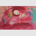 Chagall, Marc, Frühjahrswiese, 1961 (Mourlot 321), © VG Bild-Kunst, Bonn 2019