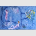 Chagall, Marc, Die Felsengrotte der Nymphen, 1961 (Mourlot 321), © VG Bild-Kunst, Bonn 2019