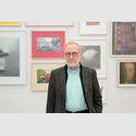 Gerhard Richter in der Ausstellung Gerhard Richter. Die Editionen. im Museum Folkwang. Foto: Museum Folkwang, Jens Nober