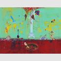 Gert und Uwe Tobias: Ohne Titel, 2015. Mischtechnik auf Papier, 36x48 cm. Copyright Gert und Uwe Tobias, Alistair Overbruck, VG BIld-Kunst, Bonn. Courtesy Contemporary Fine Arts, Berlin.