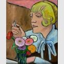 Gabriele Münter, Bildnis einer Künstlerin (Margret Cohen), 1932, Dreiländermuseum Lörrach © VG Bild-Kunst, Bonn 2018, Foto: Dreiländermuseum Lörrach