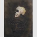 Rosemarie Trockel, Legende, 1984, Öl und Spray auf Pappe, 84 x 47 cm, Sammlung Garnatz, ©VG Bild-Kunst, Bonn 2016