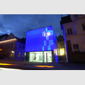 Kunstmuseum Celle bei Nacht. Copyright Kunstmuseum Celle.