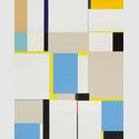 Richard Schur, übermalter Siebdruck, serielles Unikat, 70 x 55 cm, 2015