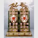 Große Schaufassung für die Locken Heinrichs des Löwen, 1938; Copyrigth Braunschweigisches Landesmuseum