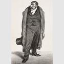 Honoré Daumier (1808–1879): Graf de Argout, 1833. Lithografie, 20 x 18,4 cm. Städel Museum, Frankfurt am Main. Foto: Städel Museum