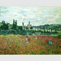 Claude Monet, Mohnblumenfeld bei Vétheuil, um 1879, Öl auf Leinwand, Stiftung Sammlung E.G. Bührle, Zürich, Foto: SIK-ISEA, J. P. Kuhn
