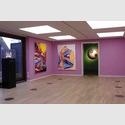 Installationsansicht Gerisch-Galerie. Links: Nikolai Winter, Rolex (S), 2011. Mitte: Zwei Arbeiten von Marco Reichert. Rechts: Thukral & Tagra, Dominus Aeris, 2012. Foto: Marianne Obst.