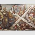 Hubertus Giebe: Diogenes (nach Jordaens), 210x300 cm, 2012, Privatbesitz. Copyright VG Bild-Kunst Bonn 2015
