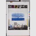 Pravoslav Sovak, West Coast C.A., 1991, Farbradierung, Photogravüre, Kaltnadel; 10 Einlagen (Japan), aquarelliert © Foto: Kunsthalle Mannheim/ Kathrin Schwab