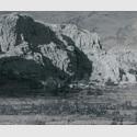 Heike Negenborn - Net-Scape 5, 2019, Acryl auf Leinwand, 130 x 155 cm