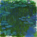 Claude Monet: Seerosen, 1914–1917, Privatsammlung, Scan: RECOM ART