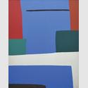 Robert Breer (1926–2011). Untitled, ca. 1950. Öl auf Leinwand. 164 × 133,5 cm. Städel Museum, Frankfurt am Main, Eigentum des Städelschen Museums-Vereins e.V.. © 2017 Robert Breer. Courtesy of the Artist's Estate