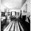 Blick in die Ausstellungsräume der Galerie Poll in der Niebuhrstrasse 77, Foto: Jürgen Littkemann