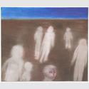 Miriam Cahn, herumlaufen, 06.01.2016,  Oil on Canvas, 145 x 170 cm © Miriam Cahn / Privatsammlung Hongkong